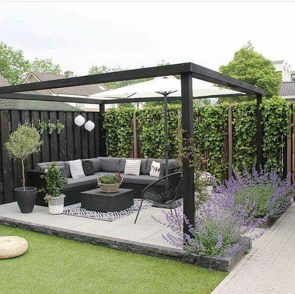 Jardín elegante