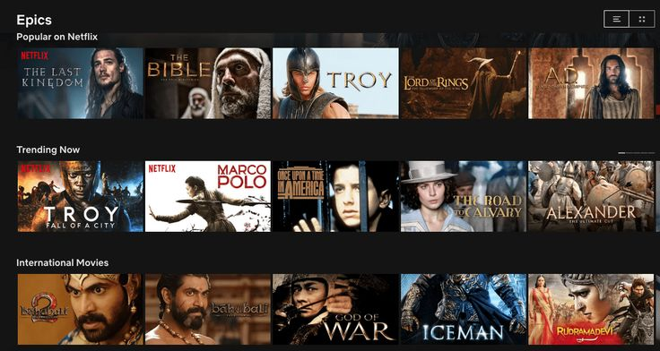 Netflix has a ton of secret movie categories and heres