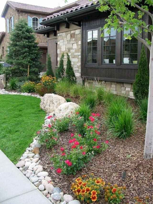 61 Low Maintenance For Small Front Yard Landscaping Ideas Best Inspiration Ideas That You Want Front Yard Landscaping Design Xeriscape Landscaping Front Yard Landscaping