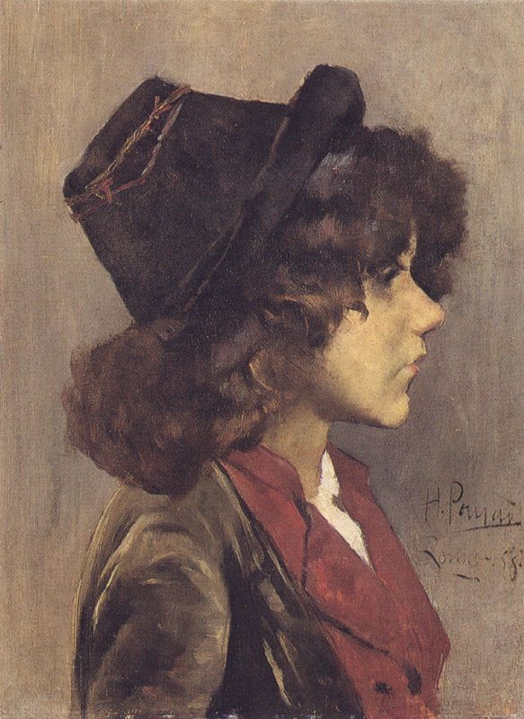 Cabeça de Rapaz Napolitano by Henrique Pousão