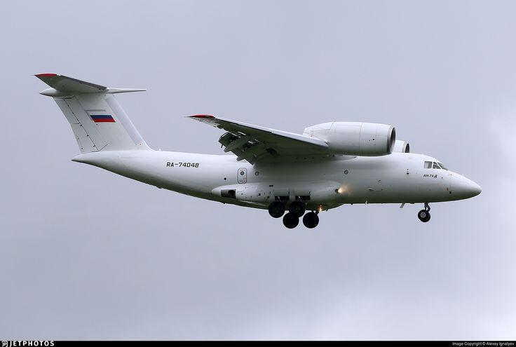 Photo of RA-74048 - Antonov An-74 - Second Sverdlovsk Aviation Enterprise