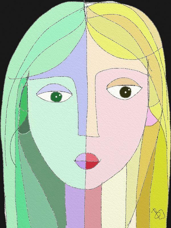 Girl variations 8. by BI