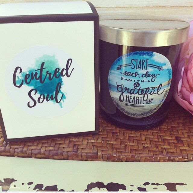 A personal favourite from my Etsy shop https://www.etsy.com/au/listing/215366478/inspirational-candle-affirmation-candle