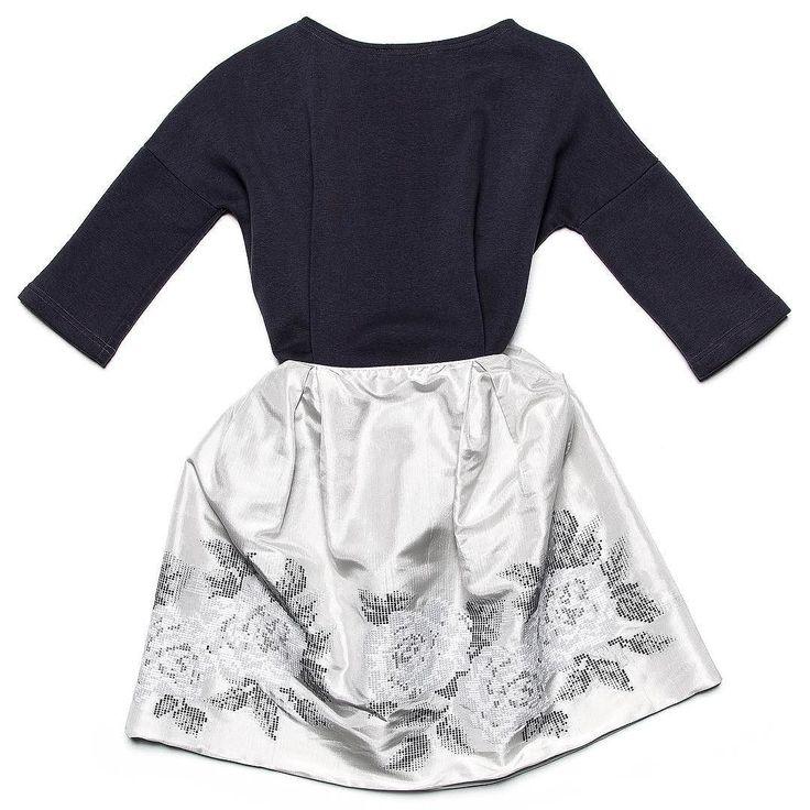 """Юбка с вышивкой """"Розы"""" и топ - ещё один вариант наряда на 8 Марта - спокойные цвета интересный цветочный акцент  #gardbe #russiandesigner"""