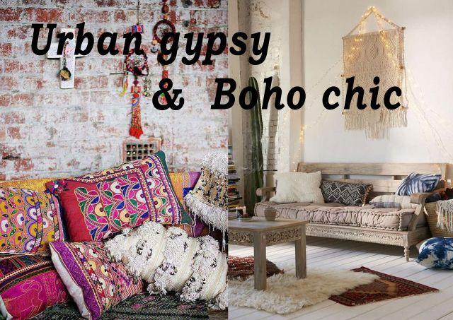 Urban gipsy & boho chic - boheemse patronen & prints  Woontrend 2017