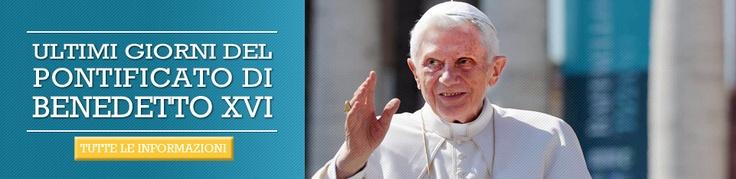 Gli ultimi 18 giorni del Pontificato di Benedetto XVI