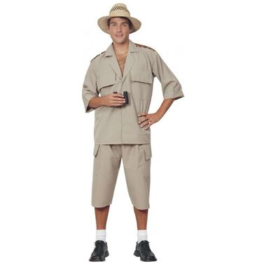 Safari adult costume and Safari womens costume for sale online. Buy khaki safari suit costume now from best costume shop Australia, Costume Direct!