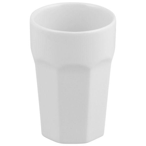 Uma fofura esses copos de cerâmica esmaltada.