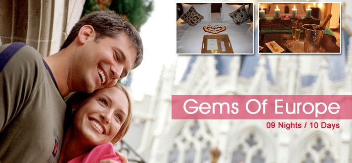 #ParisHoneymoon  #SwitzerlandHoneymoon #ItalyHoneymoon Book 09 Nights / 10 Days #HoneymoonPackages for Paris Swiss Italy 2015 from Delhi India with all inclusive resorts, hotels and cover all romantic destinations, sightseeing and most romantic places in Paris Switzerland Italy.