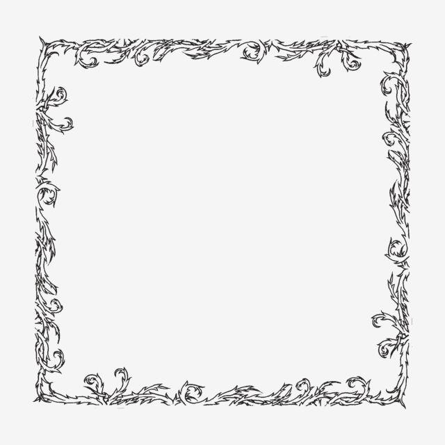 النمط الأوروبي الحدود السوداء تصميم مواد الديكور الطراز الاوروبي أسود الإطار Png وملف Psd للتحميل مجانا Easy Frame Clip Art Golden Pattern