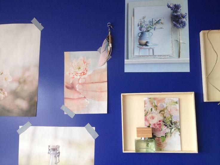 Fotomuur / collage - Jeanne van Slooten