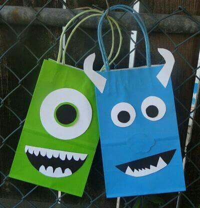 Monster Inc Gift bag.