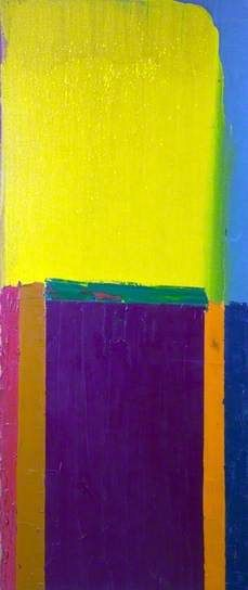 Couleur. / By John Hoyland.