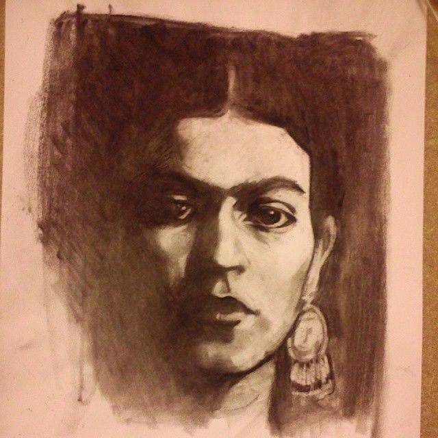 Frida Kahlo portrait, Gloria Faoro
