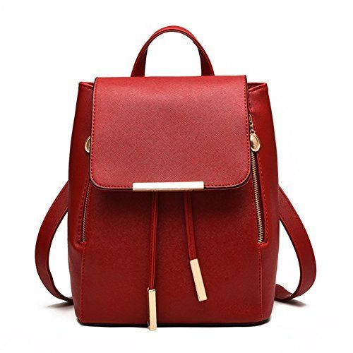 New Trending Backpacks: Z-joyee Casual Purse Fashion School Leather Backpack Shoulder Bag Mini Backpack for Women  Girls,Red. Z-joyee Casual Purse Fashion School Leather Backpack Shoulder Bag Mini Backpack for Women  Girls,Red  Special Offer: $24.99  188 Reviews Brand: Z-joyee Material: PU leatherBackpack Dimension: 24*30*16cm/9.45*11.8*6.3in (W*H*D)Function: BackpackInterior: 1 x main pocket, 1 x...