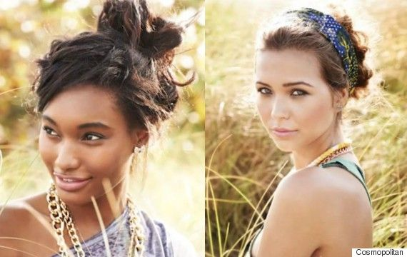 7 Messy-Chic Hairstyles To Try Out This Week