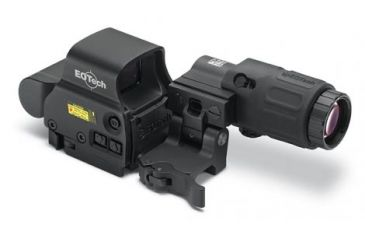 EOTech HHS-I Holographic Sight Red Dot Sight and G33.STS Magnifier