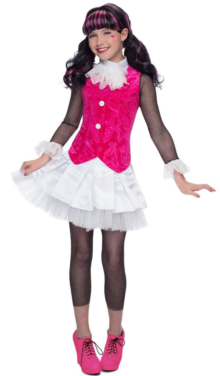 Deluxe Monster High Draculaura Costume from Buycostumes.com