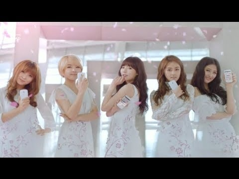 Samsung La'Fleur Collection phone commercial featuring 4Minute, in Thai