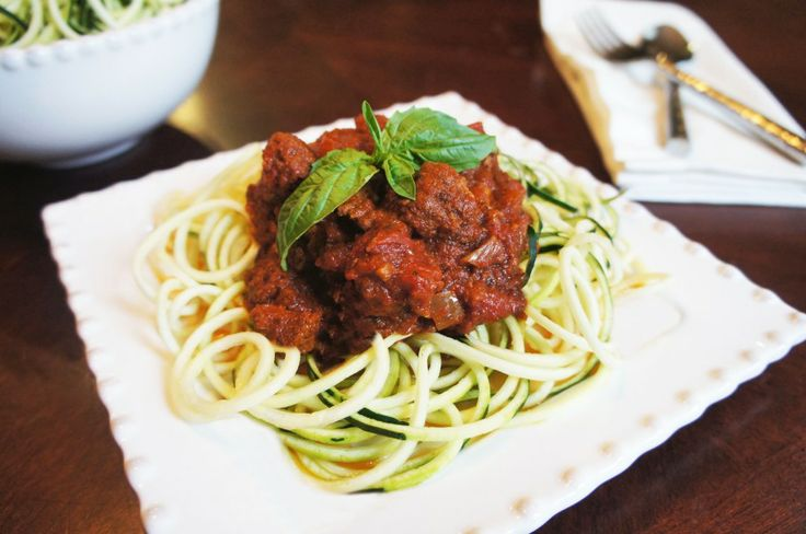 Paleo bolognese and zoodles | eat. | Pinterest