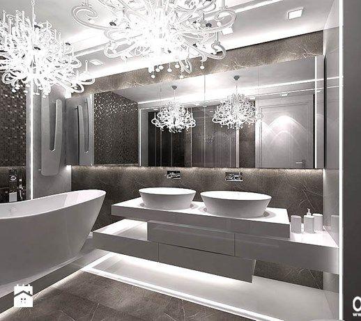 Aranżacje wnętrz - Łazienka: nowoczesna łazienka - ARTDESIGN architektura wnętrz. Przeglądaj, dodawaj i zapisuj najlepsze zdjęcia, pomysły i inspiracje designerskie. W bazie mamy już prawie milion fotografii!