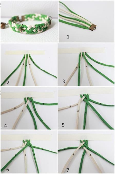 Easy braided bracelet