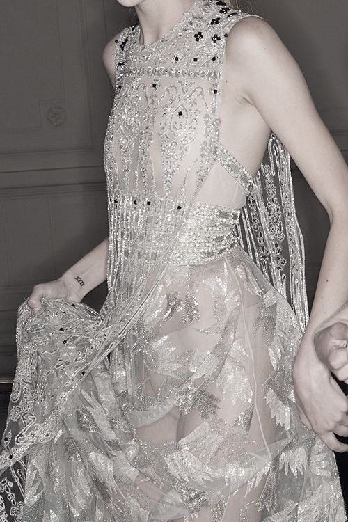 Valentino Haute Couture | Fall 2014 backstage.