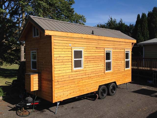 Tiny house- perfect for camping, temporary lodging, a guest house...