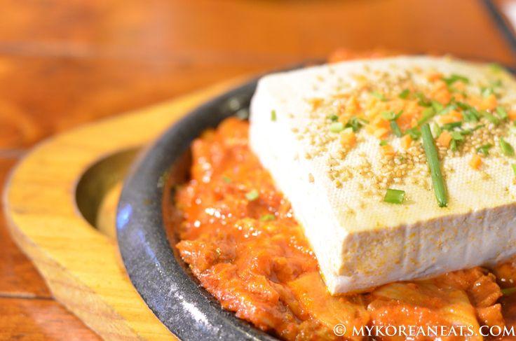 Dubu Kimchi 두부 김치 (Tofu w Sauteed Kimchi) - MYKOREANEATS