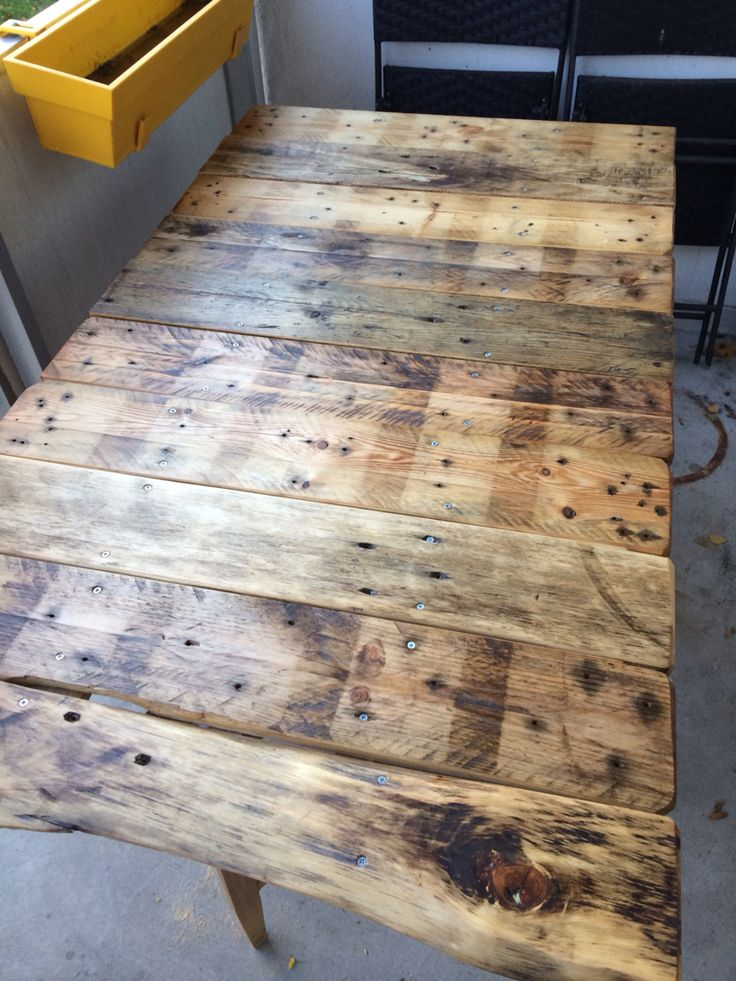 Pallets pall bord table