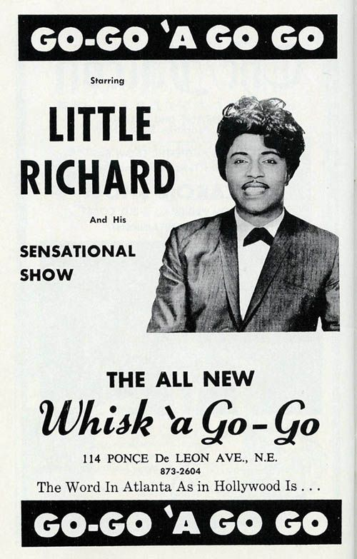 Little richard concert poster 1966