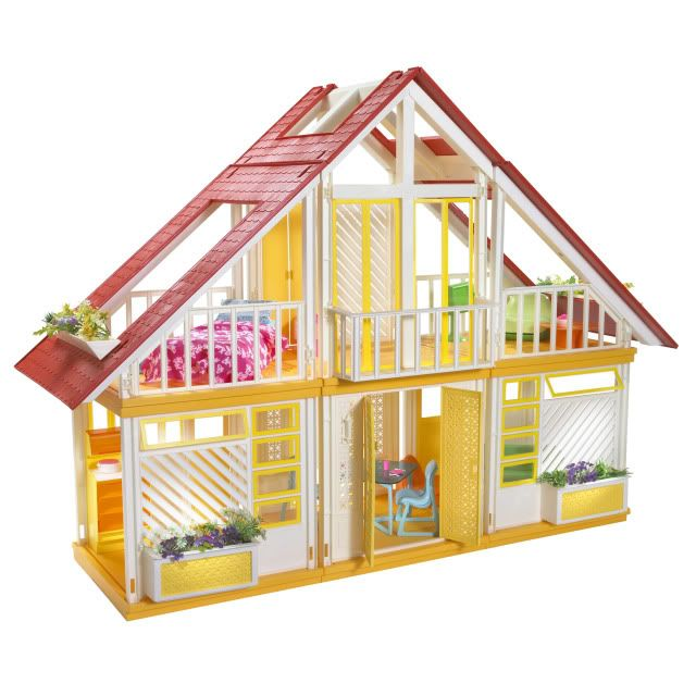 I had this Barbie house! The Barbie Dream House in the '80s