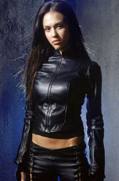 famous Actress jessica alba leather jacket feel confidence in your personality and special collection for female