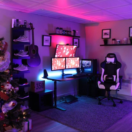 SETUP GAMER – GAMER ROOM -PC GAMER – PC MOD – GAMERS- VIDEO GAMES – PC TOP – PC MODDING – PC OLD