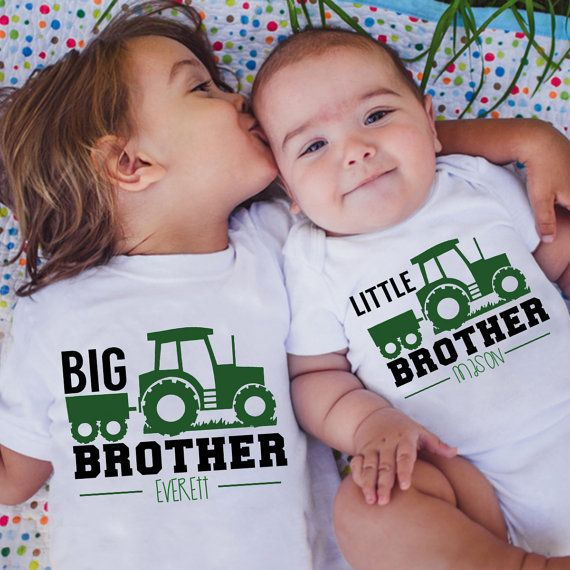 John Deere inspired brother shirts, big brother little brother, trendy boy clothes, name shirts, Best Friend Shirts, tractor birthday