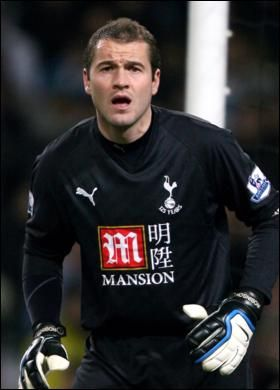 Paul Robinson - Tottenham Hotspur loved his guy remember watching the match when he scored in the late nighties.
