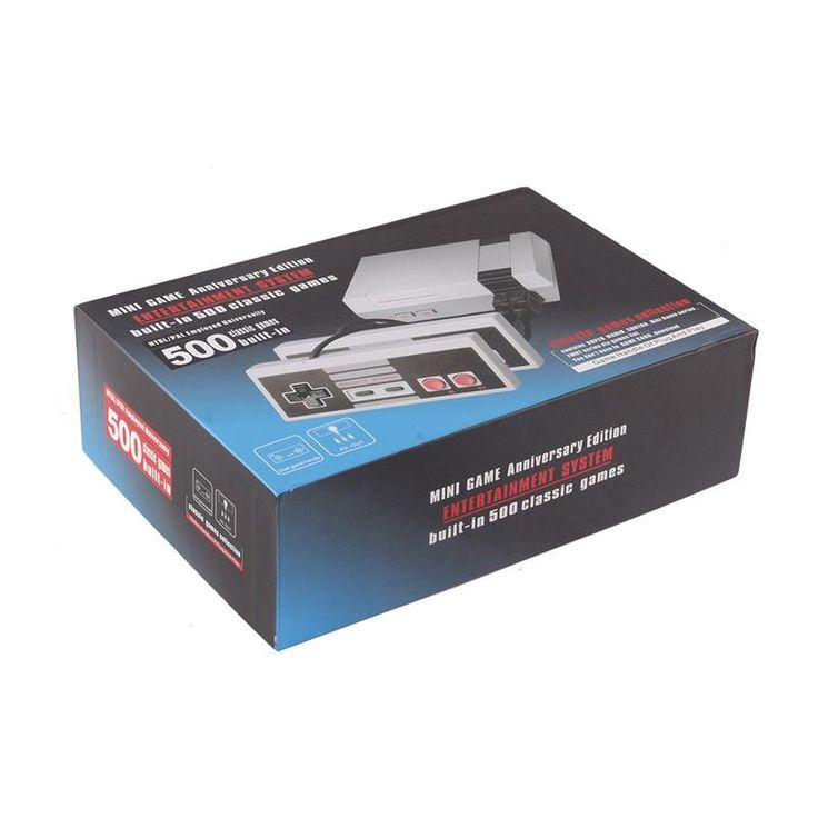 Buy Wholesale Retro 8 Bit Mini NES TV Game Console Built in 500 Classic Games 2 Players