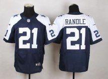 Dallas Cowboys #21 Joseph Randle Navy Blue Thanksgiving Throwbac