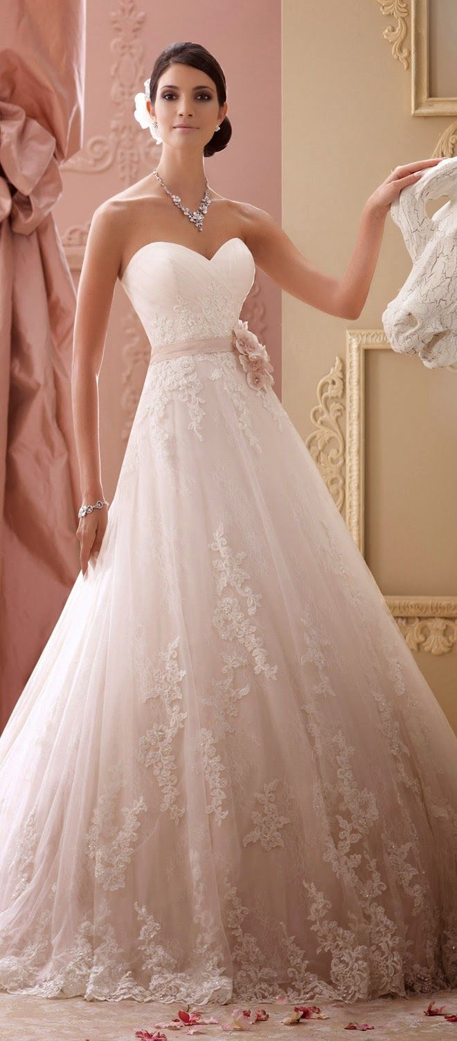 David Tutera Spring 2015 http://bellethemagazine.com/david-tutera-for-mon-cheri-wedding_dresses-spring-2015-59
