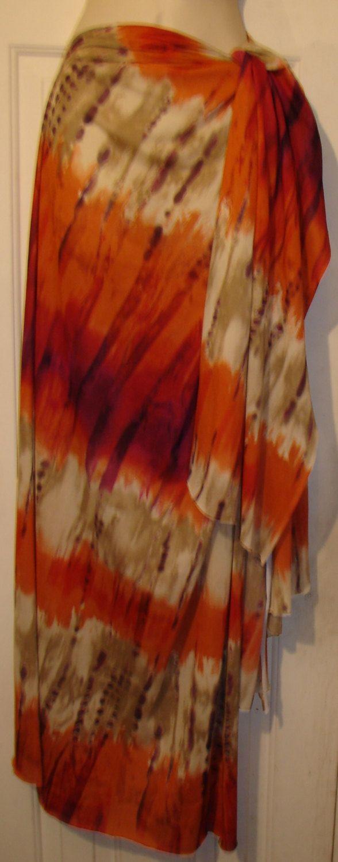 Sari Ruana COMBO Tie Dye dress Sari dress Sarong dress sarong skirt sarong pareo wrap plus size dress Ruana wrap tie dye skirt wrap skirt by WindyMountainDesigns on Etsy