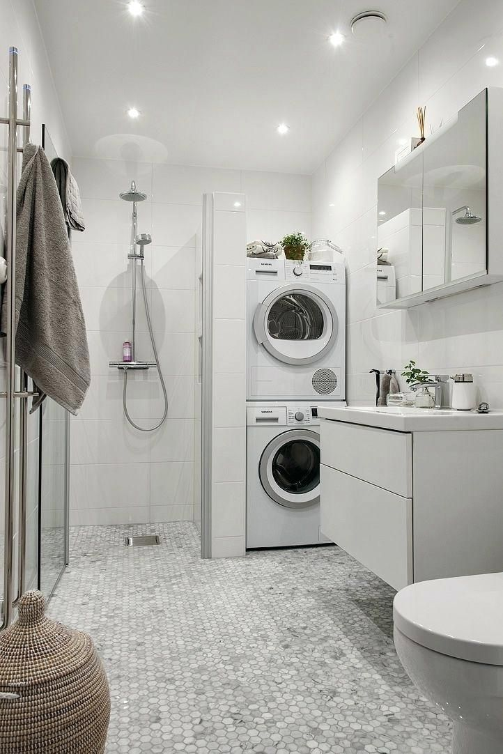 Transforming Small Bathrooms In Just 6 Easy Steps Laundry
