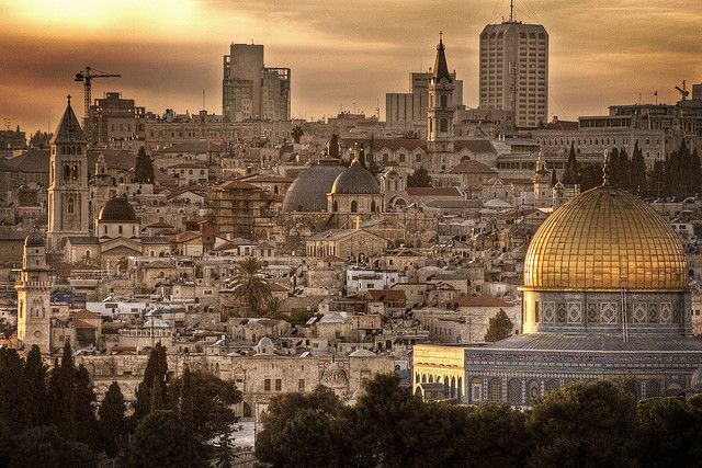 Jerusalem.  Someday.