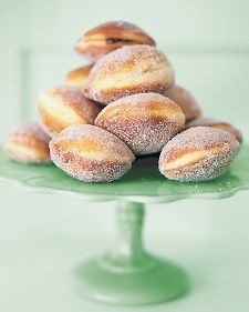 Sufganiyot - jelly doughnuts are a traditional dessert for Hanukkah.