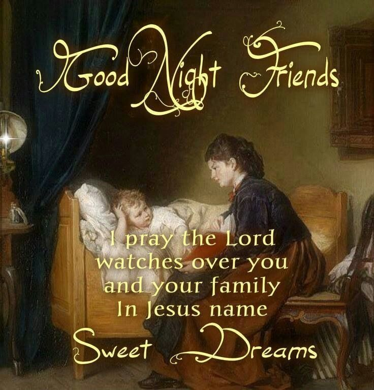 Night Time Prayer Quotes: 17 Best Images About Good Night & Blessings Too On