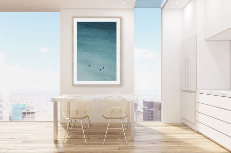 WAITING GAME * Photographic ocean wall art, fine art print * Wall Style