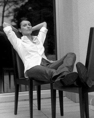 """Danuta Stenka - Sesja dla magazynu """"C'est la vie"""""""