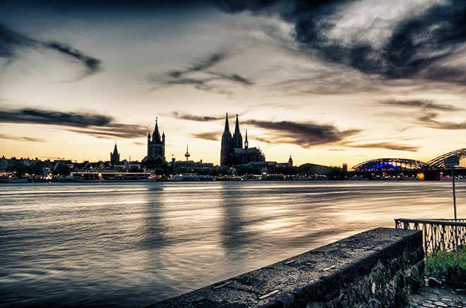 Panorama von Köln