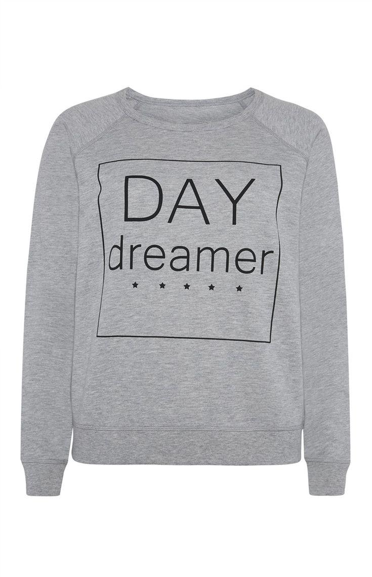 Primark - Sweatshirt met Day Dreamer-print