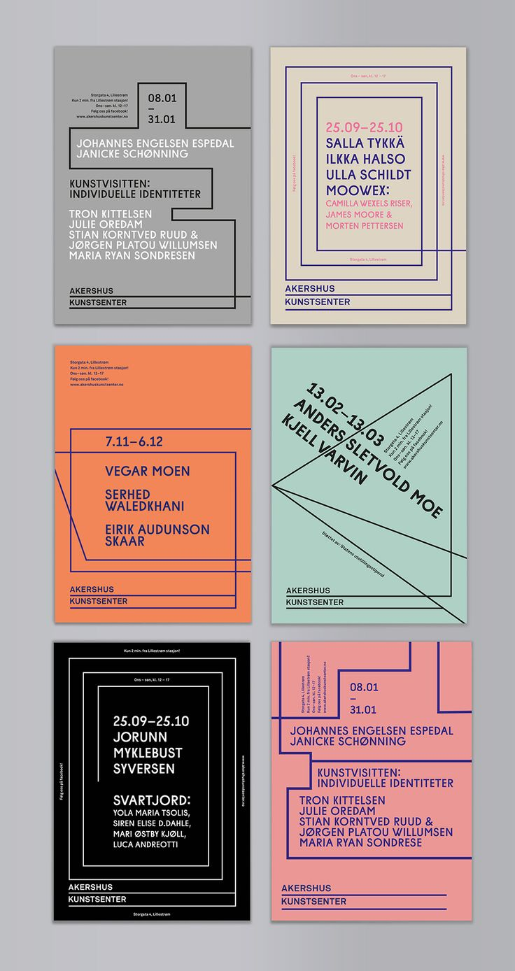 Poster design exhibition - New Exhibition Material For Akershus Kunstsenter Aks A Contemporary Arts Centre In Lillestrom