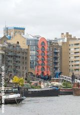The Neckinger    Rising in Southwark, this reaches the Thames at   St Saviour's Dock where, in the 17th century, pirates were hung, hence the river's name ie devil's neckcloth. This area was once called Jacob's Island, notorious as a filthy slum in the time of Charles Dickens, but is now the upmarket Shad Thames.    Shad Thames SE1  Tube: Bermondsey